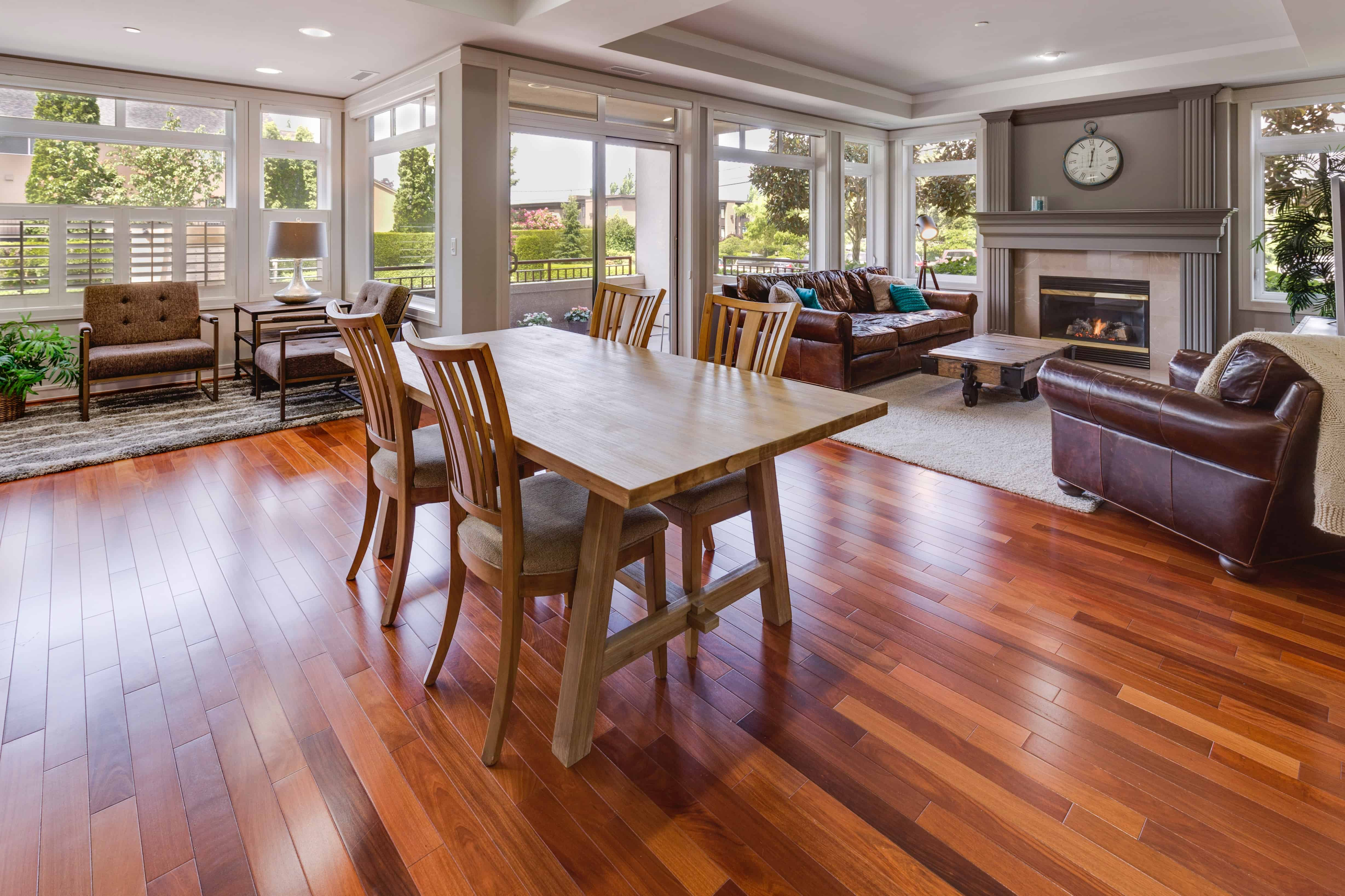 How To Clean And Buff Polyurethane Hardwood Floors Yourself