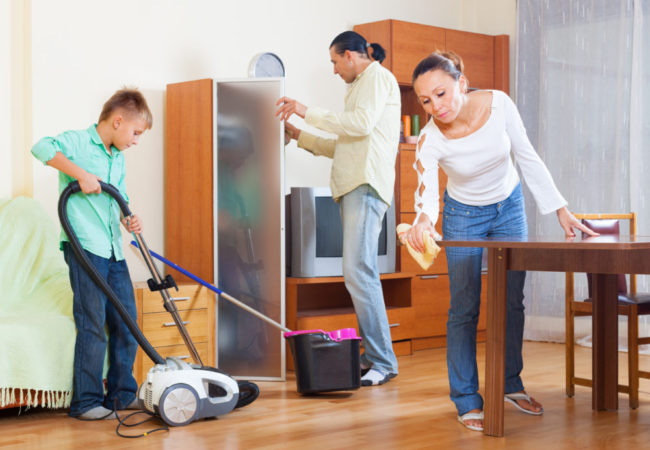 Image result for cleaning the house