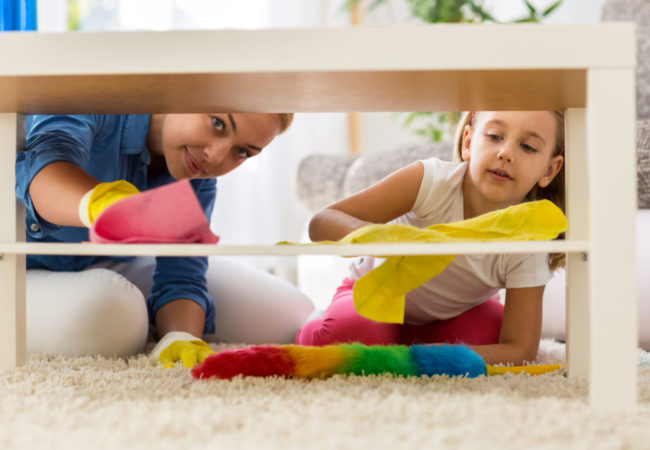 Laying it Down for Kids Lazing Around – 5 Simplified Cleaning Chores!