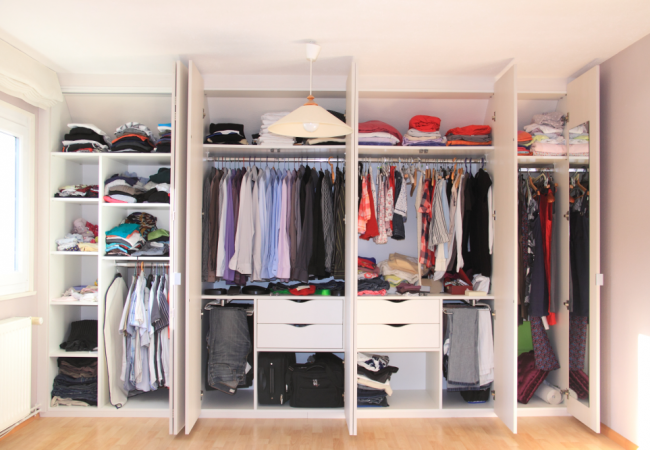 Organisation Tips to Keep Clothes Where They Belong!