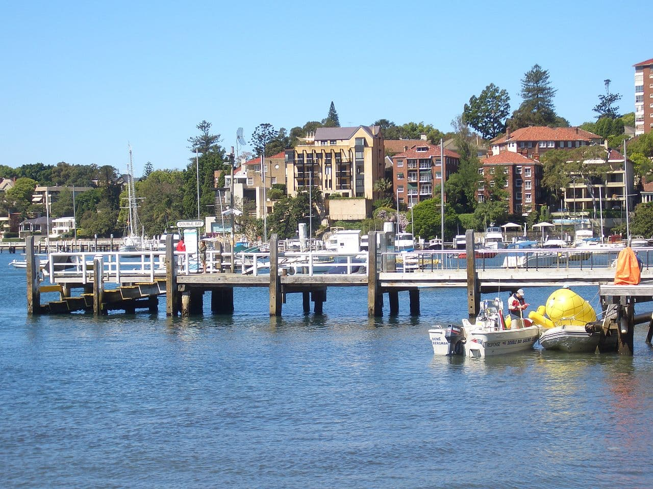 Double Bay, NSW - ferry wharf