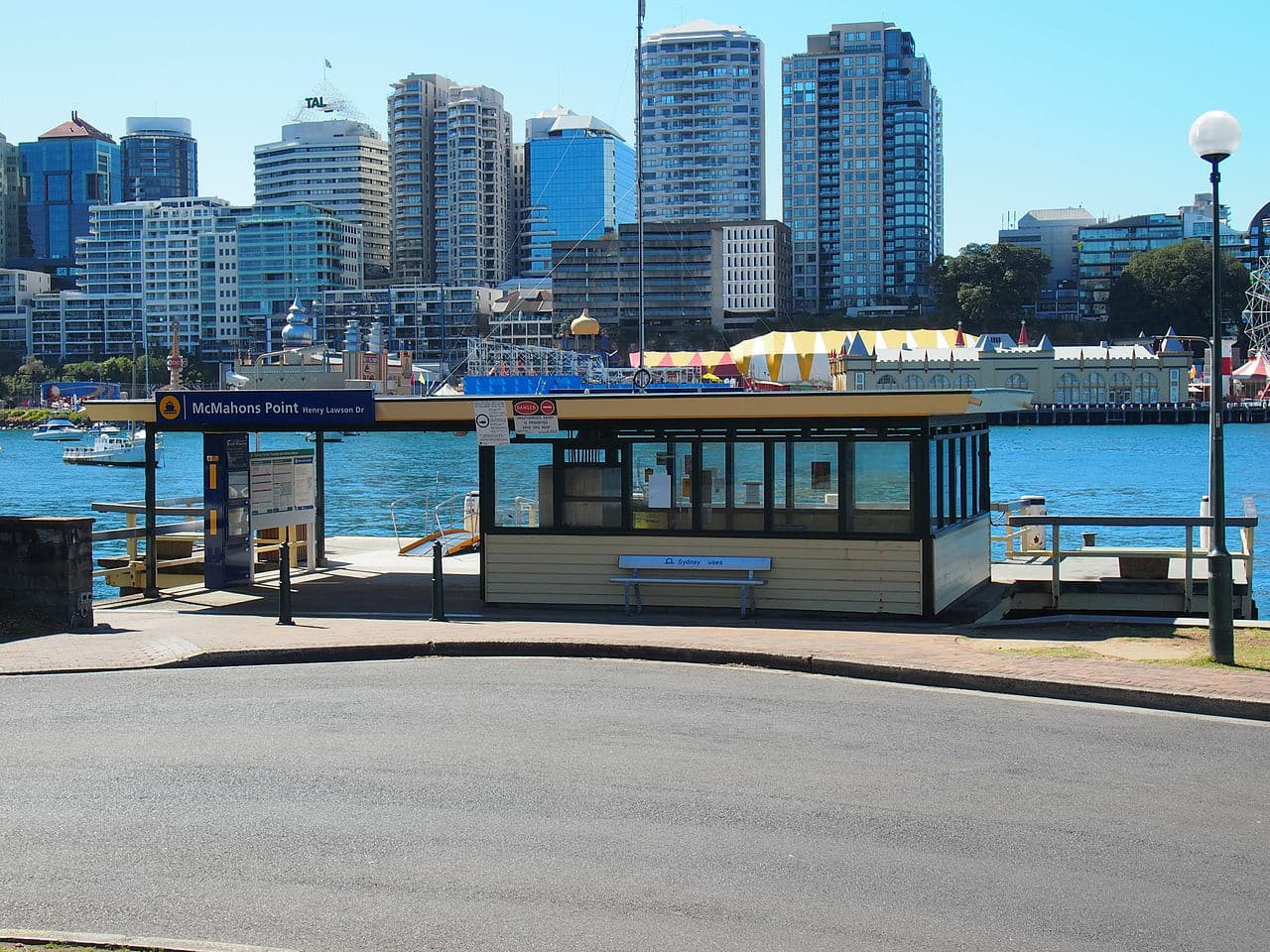 The McMahons Point ferry wharf - NSW