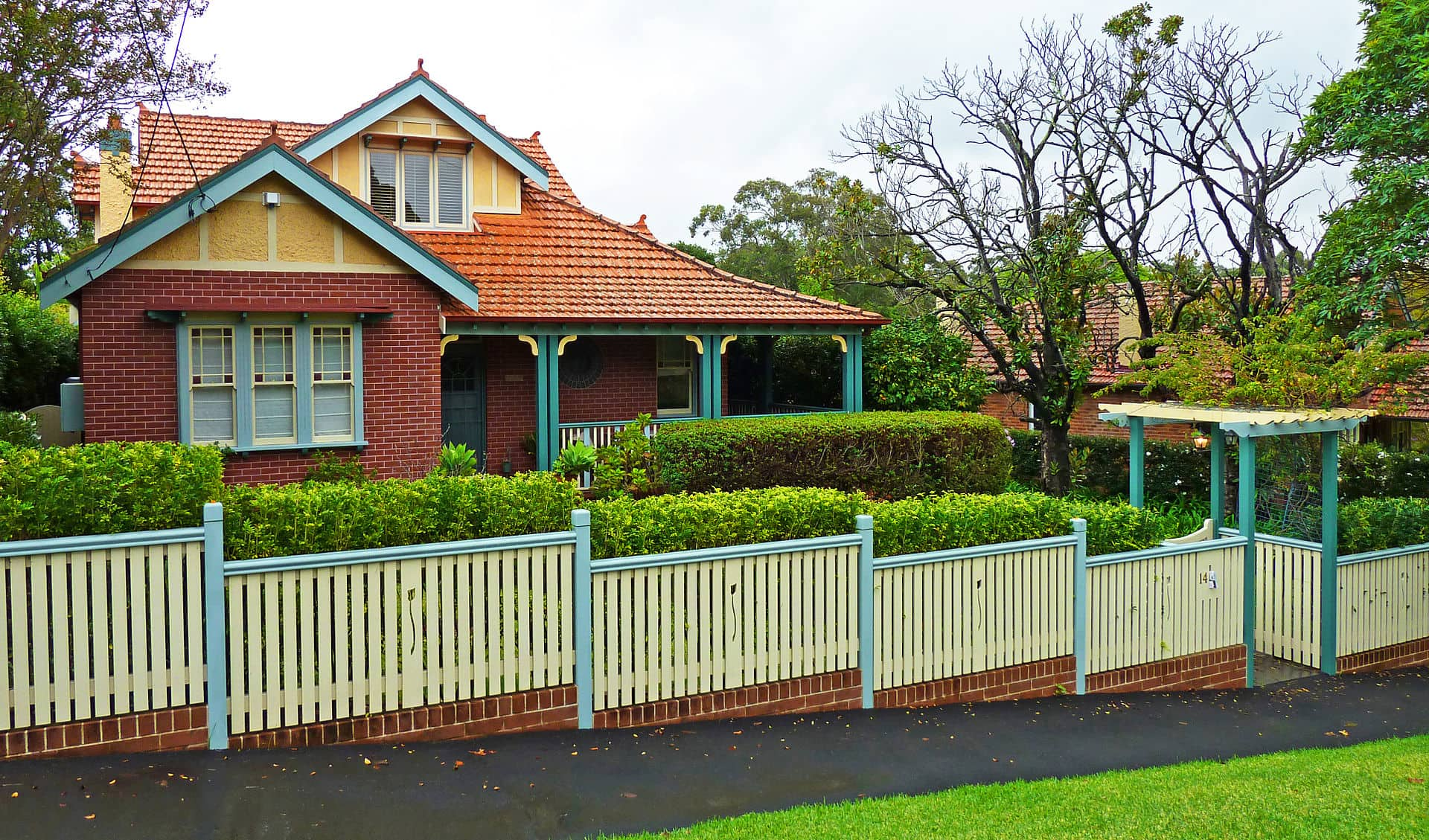 14 Kelburn Road, Roseville, New South Wales, Australia. Built c. 1915.