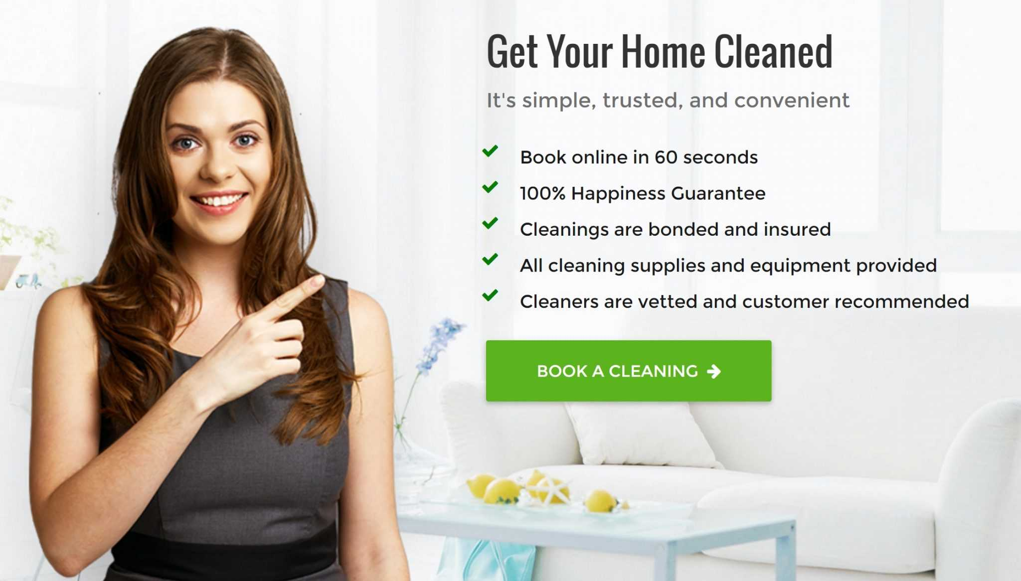House Cleaning Brisbane | #1 Domestic Home Cleaners | Simply