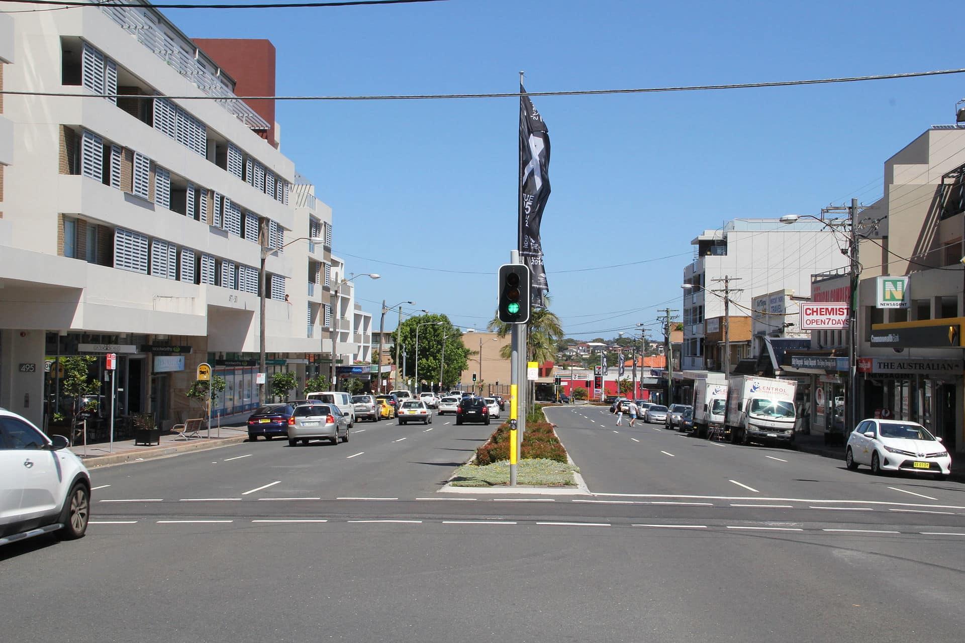 Matraville city centre, NSW
