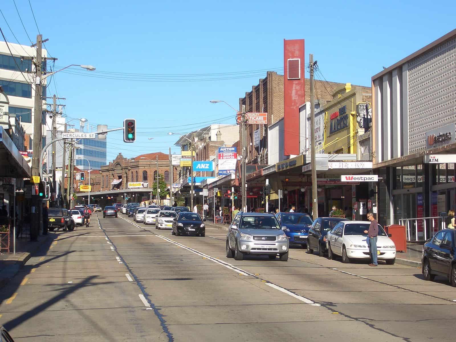 Ashfield Liverpool Road nsw