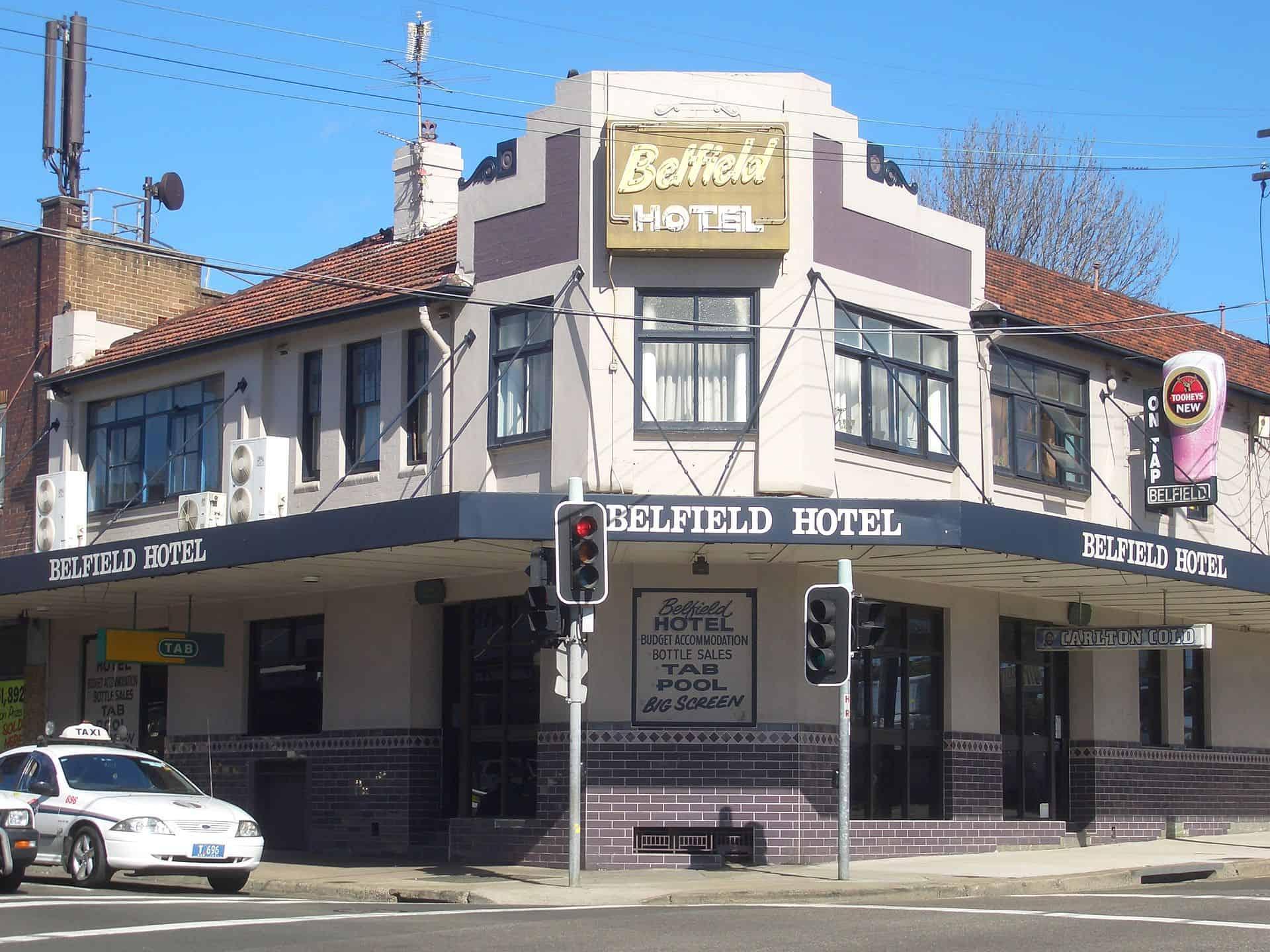 Belfield Hotel nsw