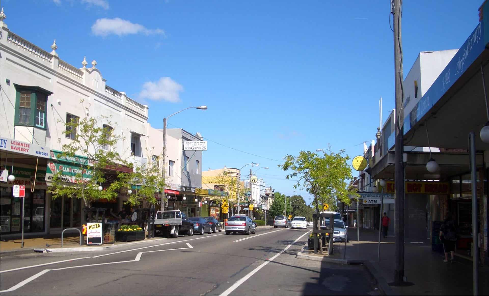 Marrickville Road, Dulwich Hill