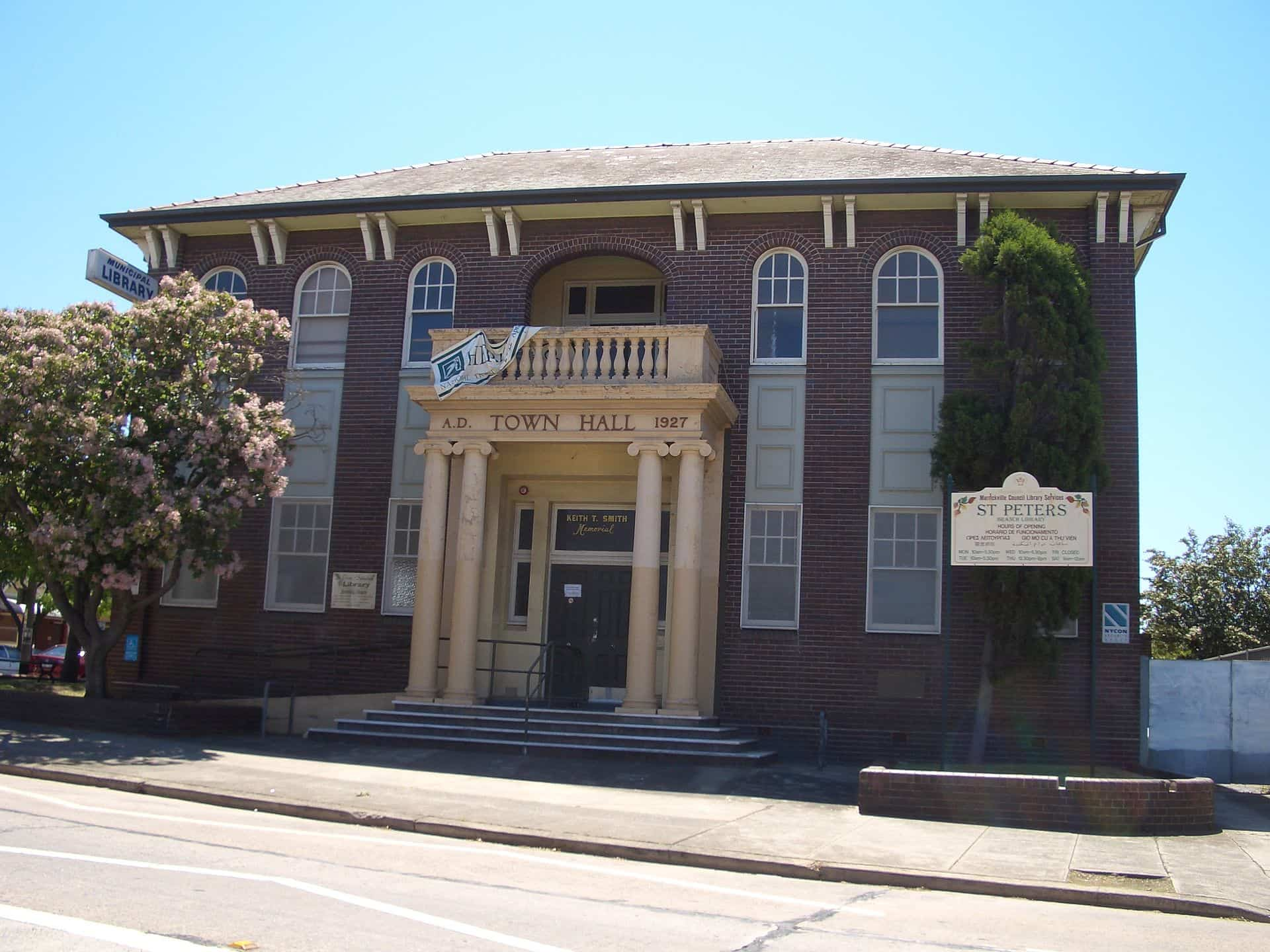 St Peters nsw