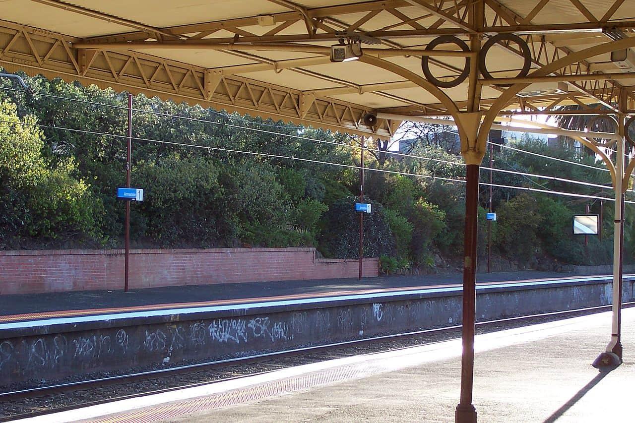 Armadale, Victoria - train station