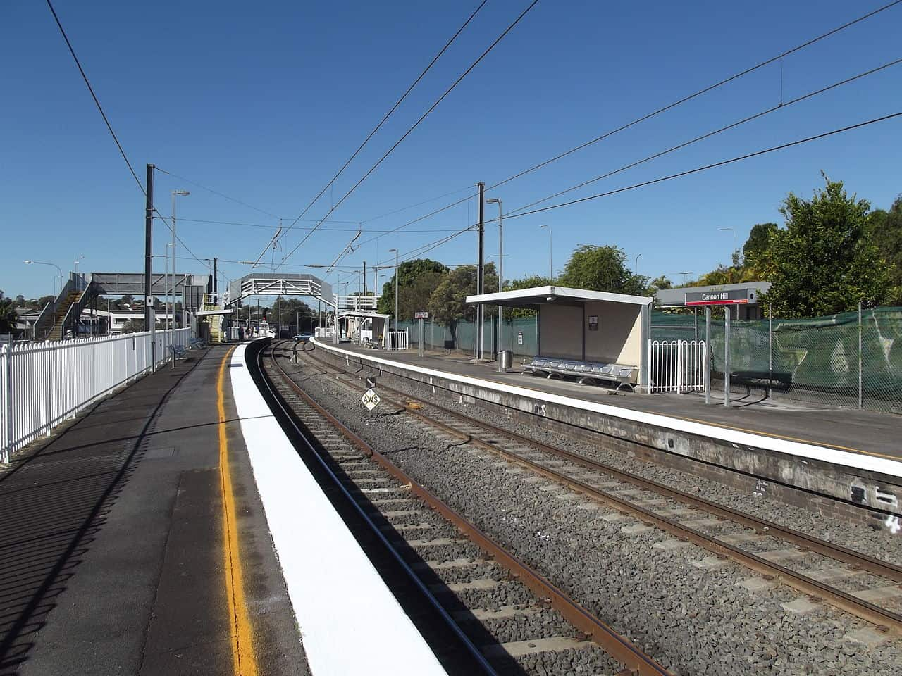 Cannon Hill station, Cannon Hill, Brisbane, QLD