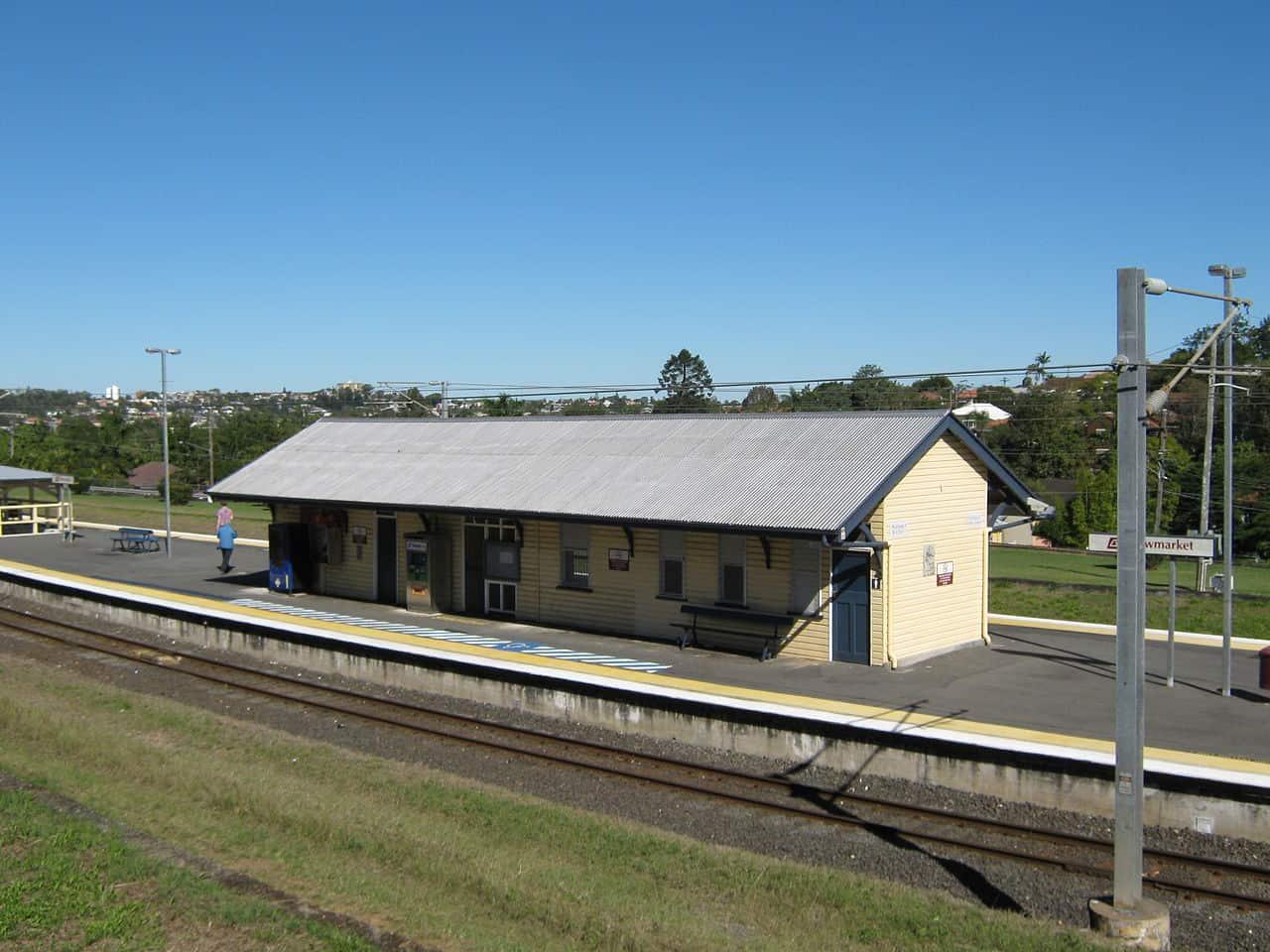 Newmarket Railway Station, Queensland.